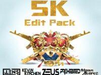 Zeus & Friends Present - 5K Follower Edit Pack
